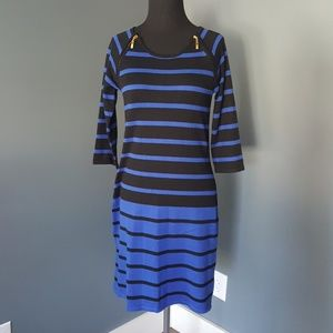 Dresses & Skirts - Classy Striped Dress